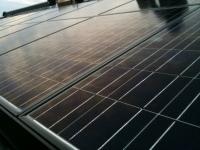太陽光発電設置現場