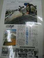 2月某日太陽光発電設置工事現場にて