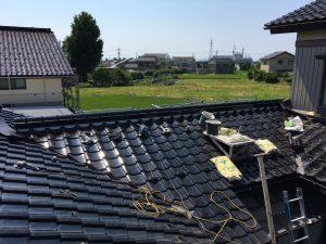 富山県上市町K様邸 葺き替え工事