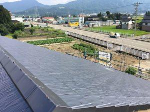富山県砺波市新築瓦工事