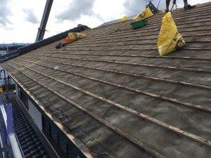 富山県氷見市屋根葺き替え工事 1