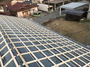 富山市Y様邸新築瓦工事