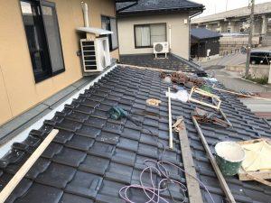 富山市A様邸 葺き直し工事