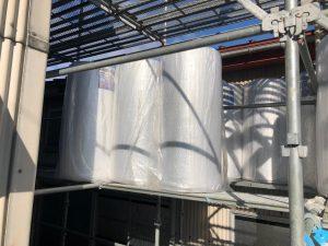 工場屋根遮熱改修工事